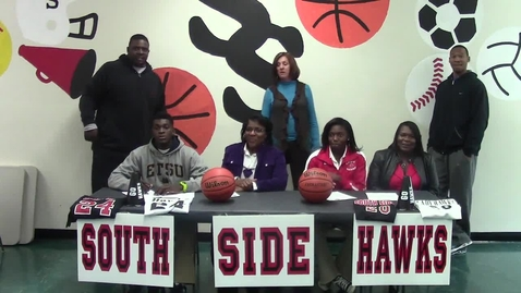 Thumbnail for entry South Side Duo Busy on Signing Day