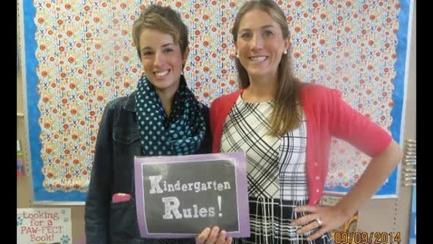 Thumbnail for entry Kindergarten at Emerson Elementary School 2014-15