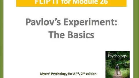 Thumbnail for entry Pavlov's Experiments