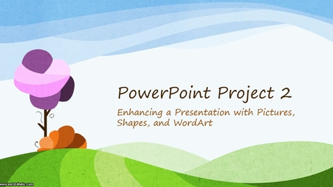 Thumbnail for entry PowerPoint Chapter 2 Video 1