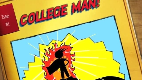 Thumbnail for entry College Man