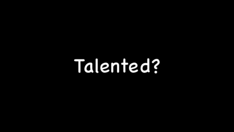 Thumbnail for entry Talent 3