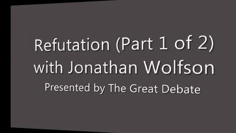 Thumbnail for entry Refutation (1 of 2)