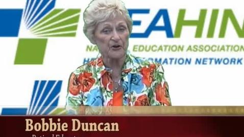 Thumbnail for entry NEA Convention: Bobbie Duncan