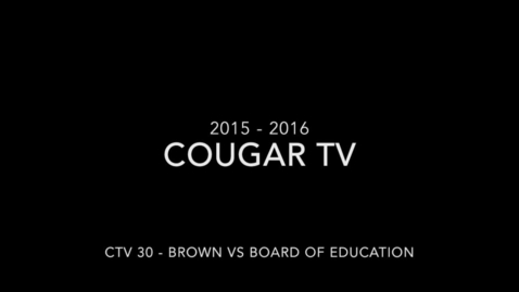 Thumbnail for entry Capital High School 2015 - 2016 Cougar TV Show 30