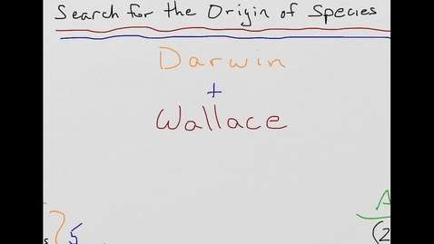 Thumbnail for entry Charles Darwin and Alfred Wallace in 2-Minutes