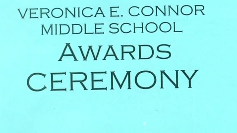 Thumbnail for entry VCMS 8th Grade Awards Moving Up Ceremony 6-20-2017