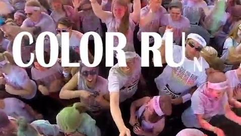 Thumbnail for entry Color Run: Saturday 4/11 at 9:30 a.m.