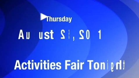 Thumbnail for entry Thursday, August 25, 2011
