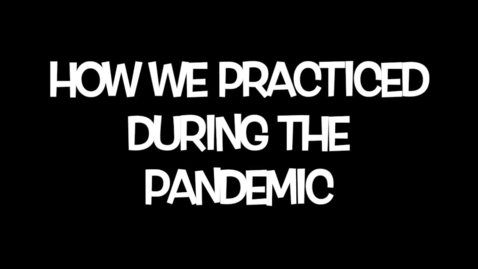 Thumbnail for entry Hand Band Pandemic Practicing