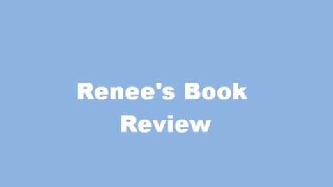 Thumbnail for entry 13-14 Sahadeo Renee's Book Review