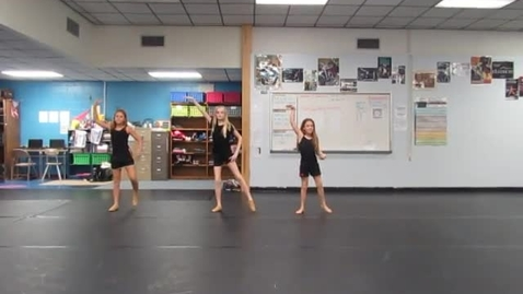 Thumbnail for entry 7th Period 6th grade Rhythm Name dances 10-20-16 group DW AD IS
