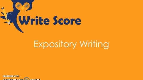 Thumbnail for entry 6th Grade_Expository Intro_April 13-17