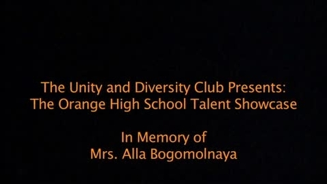Thumbnail for entry 12_13_OHS Talent Show - March 1, 2013