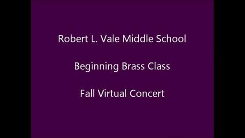 Thumbnail for entry 2012-2013 Beg. Brass Fall Concert