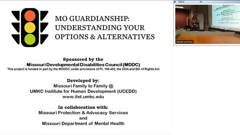 Thumbnail for entry Making Decisions About Guardianship