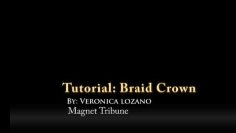 Thumbnail for entry Crown Braid Tutorial