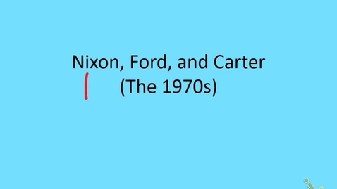 Thumbnail for entry US: The 1970s, part 1 - Nixon Foreign