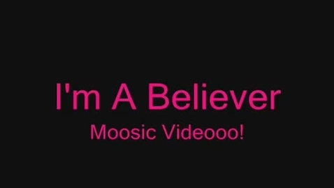 Thumbnail for entry YouTube        - I'm A Believer Shrek Music Video