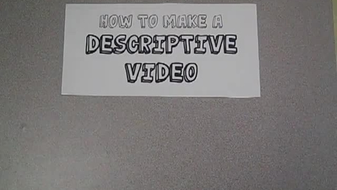 Thumbnail for entry How to Make a Common Craft Style Video (Mr. Fogle, SVSD, HMS)