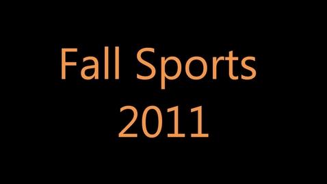 Thumbnail for entry Fall Sports Slideshow