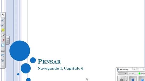 Thumbnail for entry Navegando 1.6 Pensar Flip Video