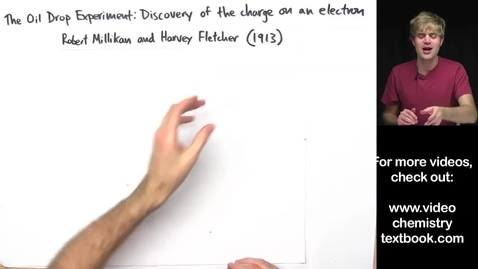Thumbnail for entry discovery of the charge of an electron