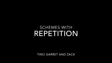 Thumbnail for entry 5. Repetition