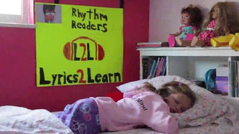 Thumbnail for entry Lyrics2learn - Rhythm Readers