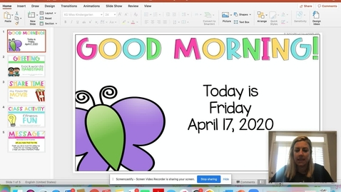 Thumbnail for entry Morning Meeting April 17