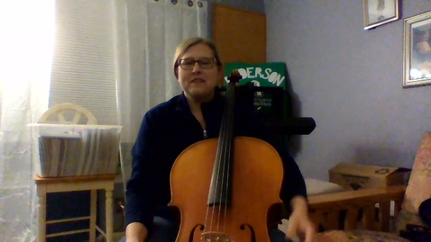 Thumbnail for entry Cello Video - Song of Seven Angles; D Major Scale; French Folk Song