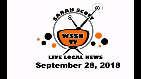 Thumbnail for entry WSSN News Sept 28, 2018