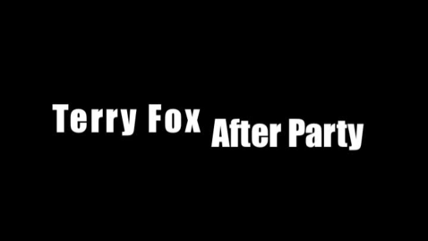 Thumbnail for entry Terry Fox after party