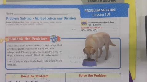 Thumbnail for entry Math 1.9 September 14 - 5th Grade