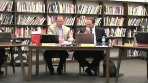 Thumbnail for entry 4/11/13 Warren County R3 School Board Meeting