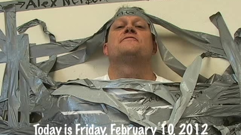 Thumbnail for entry Friday, February 10, 2012