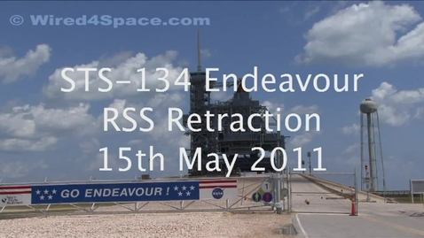Thumbnail for entry 2011-05-15 STS-134 Endeavour RSS Retraction