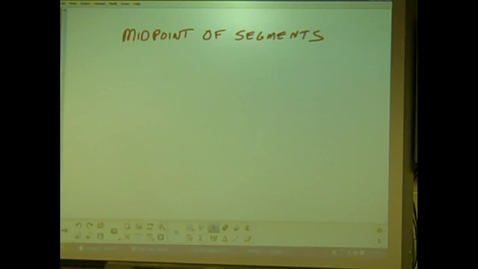 Thumbnail for entry Juda Math -- Midpoints Lecture/Examples