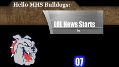 Thumbnail for entry Thursday, January 12, 2012