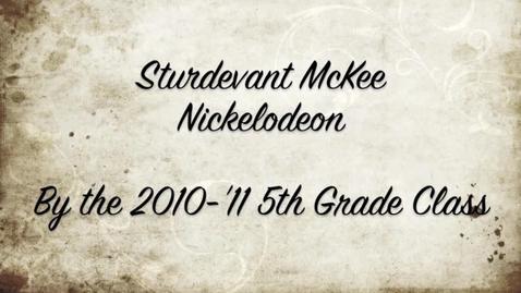 Thumbnail for entry Sturdevant McKee Documentary