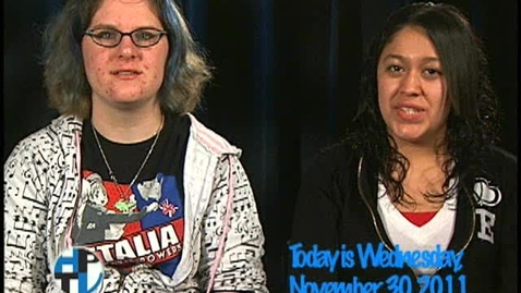 Thumbnail for entry Wednesday, November 30, 2011