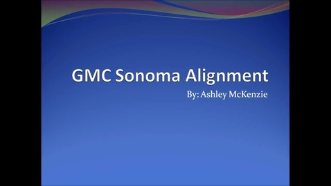 Thumbnail for entry 2 wheel alignment