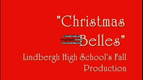 Thumbnail for entry Christmas Bell's Fall Play