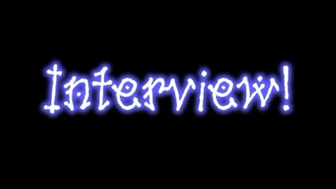 Thumbnail for entry Tanner's Interview