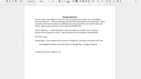 Thumbnail for entry Google Docs Templates How to Access Them