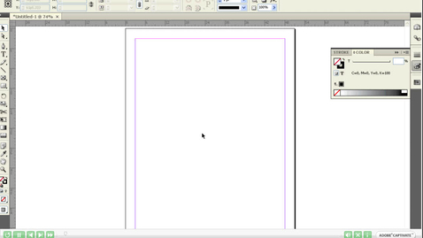 Thumbnail for entry Adding Text and Editing it in InDesign