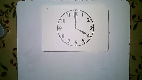 Thumbnail for entry Telling Time Lesson 5 (Telling time to 5 minute increments review.)