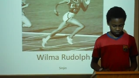 Thumbnail for entry Wilma Rudolph