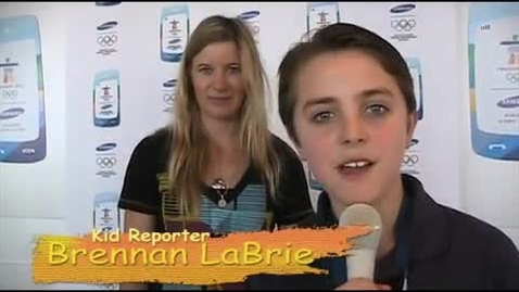 Thumbnail for entry Winter #Olympics: Brennan LaBrie Interviews Snowboarder Hannah Teter