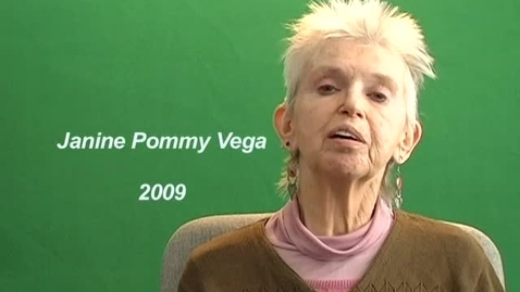 Thumbnail for entry Janine Pommy Vega